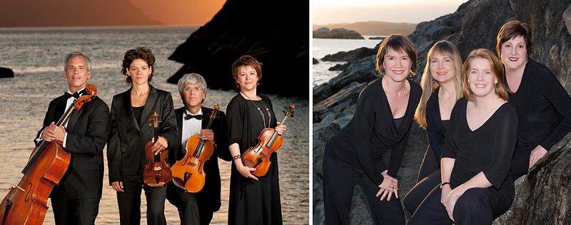 Alcan and Lafayette Quartets